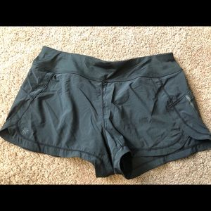 Athleta Women's Shorts Black Lined Running M